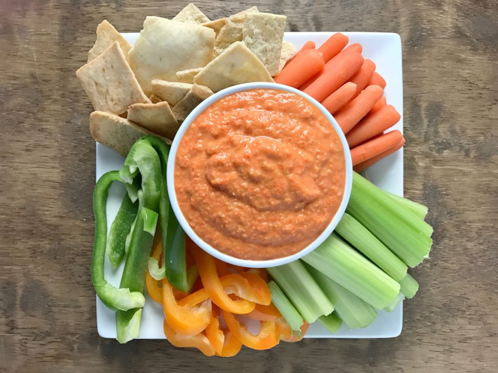 Roasted Red Pepper Dip - Your Choice Nutrition
